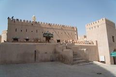 Fort of Nizwa, Oman. Nizwa, Oman, CIRCA September 2014: Nizwa fort, Sultanate of Oman royalty free stock image