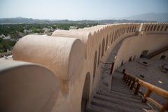 Fort of Nizwa, Oman. Nizwa, Oman, CIRCA September 2014: Nizwa fort, Sultanate of Oman royalty free stock images