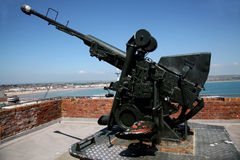 Fort Nothe anti-Aircraft Gun Royalty Free Stock Image