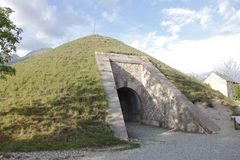 Fort Of Mont-Dauphin, Powder Magazine, Hautes Alpes, France Stock Image