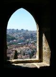 fort okno zdjęcia stock