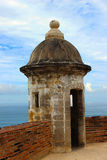 Fort in Old San Juan Puerto Rico Royalty Free Stock Photos