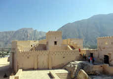 Fort in oman Royalty Free Stock Image