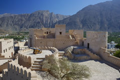 fort Oman nordique nakhal Photo stock