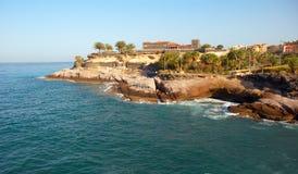 Fort op de kust van het Eiland van Tenerife. Royalty-vrije Stock Foto's