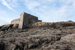 Fort op de rotsen Royalty-vrije Stock Fotografie