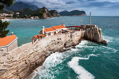 Fort op het eiland Stock Afbeeldingen