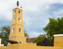 Fort Oranje, Bonaire Stock Photo