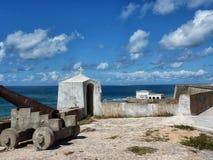 Fort på ön av Mocambique Arkivfoto