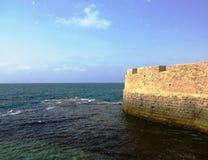 Fort på havet royaltyfri bild
