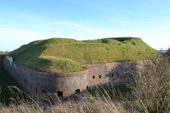 Fort Pannerden Stockfoto