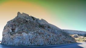 fort panorama Rethymnon zdjęcie royalty free