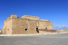 Fort of Paphos. In the harbour, Cyprus stock photo