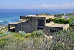 Fort Pearce, Nationalpark Punkt Nepean, Victoria, Australien Lizenzfreie Stockfotos