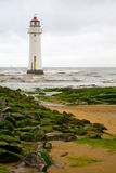 Fort Perch Lighthouse, New Brighton, UK Royalty Free Stock Photography