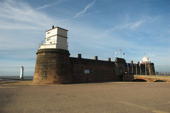 Fort Perch Rock Stock Photo