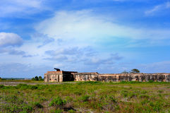 Fort Pickens Civil War Era Fort Florida Royalty Free Stock Images