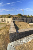 Fort Pickens Exterior Walls Stock Photography