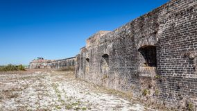 Fort Pickens State Park Ruins Royalty Free Stock Images