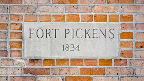 Fort Pickens State Park Ruins Royalty Free Stock Photos