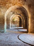 Fort Pickens State Park Ruins Royalty Free Stock Photography