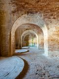 Fort Pickens State Park Ruins Royalty Free Stock Image