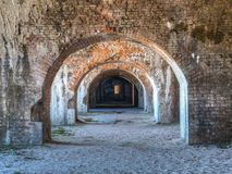 Fort Pickens State Park Ruins Stock Photo
