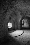 Fort Pickens Tunnels Stock Photo