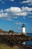 Fort Pickering Light in Salem Harbor Royalty Free Stock Photos
