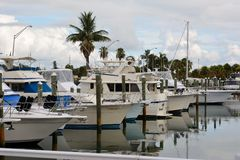 Fort Pierce Marina Lizenzfreies Stockfoto