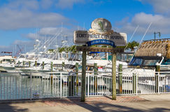 Fort Pierce Marina Royalty Free Stock Photography