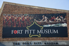 Fort Pitt in Museum in Pittsburgh Stock Photo