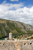 Fort in Pocitelj, Bosnia and Herzegovina Stock Photo