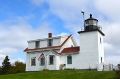 Fort Point Lighthouse Royalty Free Stock Photos