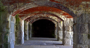 Fort Popham, Maine USA Stock Photos
