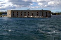 Free Fort Popham, Phippsburg ME, Taken From The Water. Stock Image - 108912381