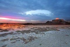 Fort Popielaty Guernsey Zdjęcie Stock
