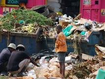 Fort Portal贫民窟,乌干达 免版税图库摄影