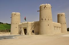Fort près de Liwa Photographie stock