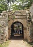 Fort and prison in Negombo Sri Lanka Stock Images