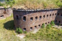 Fort prussien historique à Danzig - en Pologne photographie stock libre de droits