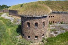 Fort prussien historique à Danzig - en Pologne image stock