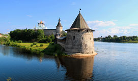Fort in Pskov Stock Image