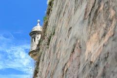 Fort in Puerto Rico Stockbilder