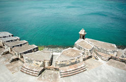 Fort in Puerto Rico Stockfotos