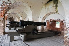Fort Pulaski Stock Photography
