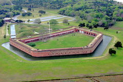 Fort Pulaski Images stock