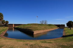 Fort Pulaski Stock Afbeelding