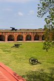 Fort Pulaski Canons Stock Images
