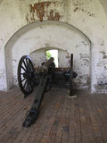Fort Pulaski Cannons Royalty Free Stock Images